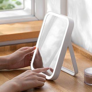 Lazy Corner - Desktop Rechargeable LED Mirror
