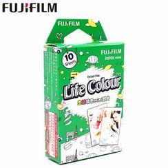 Fujifilm - Fujifilm Instax Mini Film (Life Color) (10 Sheets per Pack)