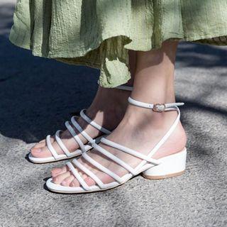 锦洋鞋业 - 低跟多带凉鞋