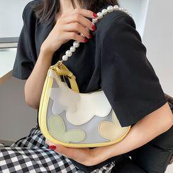KOKOSE - Color Panel Shoulder Bag
