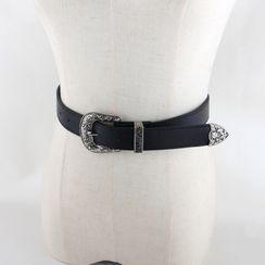 Goldenrod - Faux Leather Belt