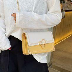 Youshine - Heart Accent Crossbody Bag