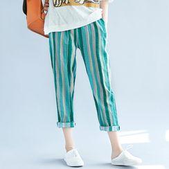 RAIN DEER - 條紋哈倫褲