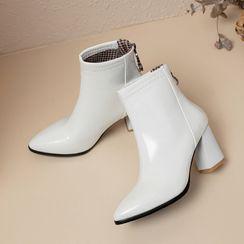 Megan - 粗跟短靴