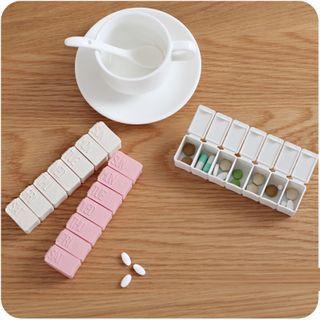 Good Living - Plastic Pill Box