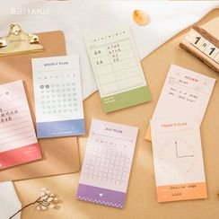Ms Zaa - Scheduler Print Diary Background Decoration Paper