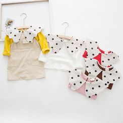 Dolphin Dream - Kids Dotted Collar Top