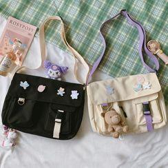 BANGGIRL(バングガール) - Buckled Crossbody Bag