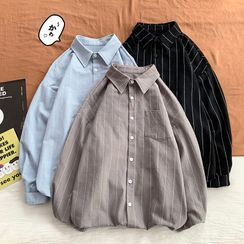 VERSIBO - 條紋襯衫