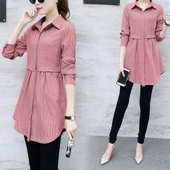 TROBIZ - 长袖裙衣衬衫