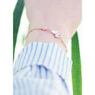 kitsch island - Rhinestone Butterfly Bracelet
