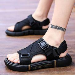 JACIN - Platform Buckled Sandals