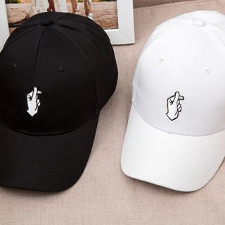 Buttercap - Embroidered Snapping Hand Baseball Cap