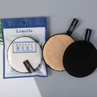 YOUSHA - Reusable Face Makeup Microfiber Cleaning Pad