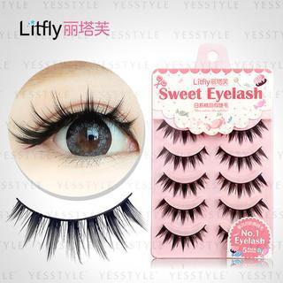 Litfly - Eyelash #118 (5 pairs)