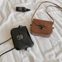SUMME - Faux Leather Crossbody Bag