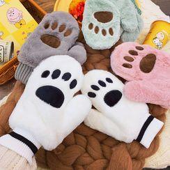 Yunikon(ユニコン) - Bear Paw Fleece Gloves