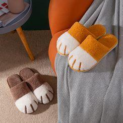Mowin - Cat's Paw Fleece Home Slippers