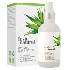 InstaNatural - Organic Rose Water Spray