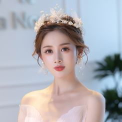 la Himi - 婚礼仿珍珠皇冠