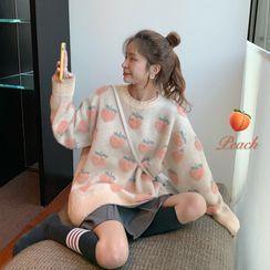 Closette - Fruit Jacquard Sweater