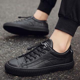 JACIN - Faux Leather Sneakers