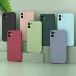 Mobby - Plain Phone Case - iPhone 11 Pro Max / 11 Pro / 11 / XS Max / XS / XR / X / 8 / 8 Plus / 7 / 7 Plus / 6s / 6s Plus