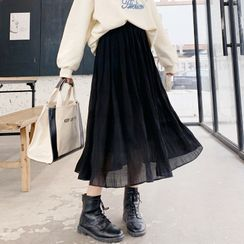CUITOR - Mesh Midi Skirt