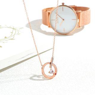 Tenri - Rhinestone Necklace