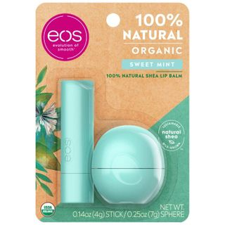 eos - Sweet mint stick and sphere lip balm