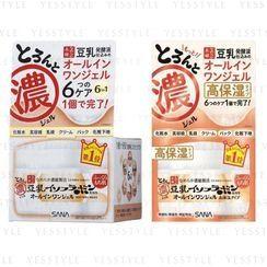 SANA - Soy Milk 6 In 1 Moisture Gel Cream 100g - 2 Types