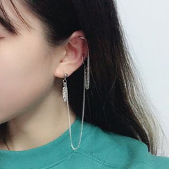 Cometto - Alloy Layered Chained Earring