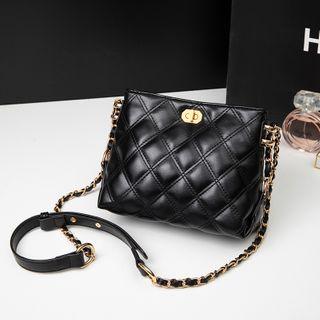 BAUQBAU - Quilted Flap Crossbody Bag