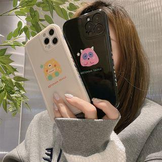 kloudkase - Monster Print Phone Case - iPhone 12 Pro Max / 12 Pro / 12 / 12 mini / 11 Pro Max / 11 Pro / 11 / SE / XS Max / XS / XR / X / SE 2 / 8 / 8 Plus / 7 / 7 Plus