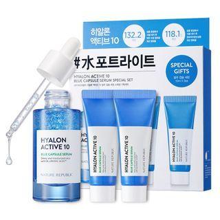 NATURE REPUBLIC - Hyalon Active 10 Blue Capsule Serum Special Set