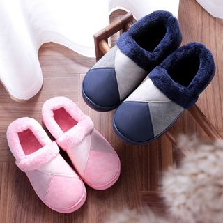 MARTUCCI - Faux-Fur Home Slippers