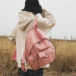 Willow Bloom - Faux Leather Backpack