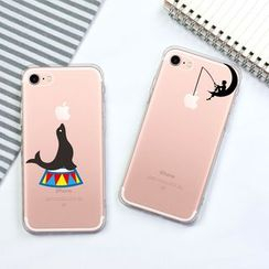 POEEM - Printed Mobile Case - iPhone 5 / 5S / SE / 6 / 6S / 6S Plus / 7 / 7 Plus / 8 / 8 Plus / X / XS / XR / XS Max
