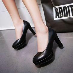 佳美 - 厚底高跟鞋