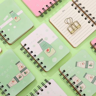 Eranso - Printed Small Spring Notebook