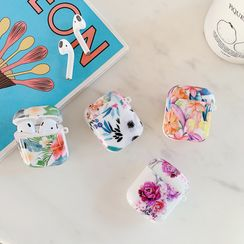 Cellfie - Floral Print AirPods Pro Earphone Case Protection Cover