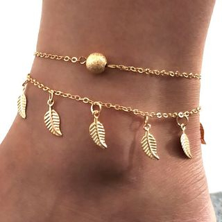 Cheermo - Leaf Anklet