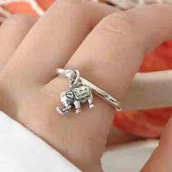 Korrs - Elephant Sterling Silver Ring