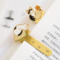 Cute Essentials - Animal Metal Bookmark
