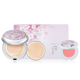 The History of Whoo - Gongjinhyang Seol Radiant White Moisture Cushion Foundation Set