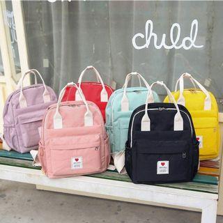Trendy Spot - Kids Heart Print Backpack
