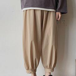 Dukakis - Cropped Harem Pants