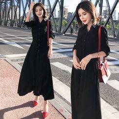 Yilda - 长袖长衬衫裙