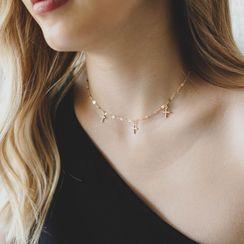 Zeymour - Cross Necklace