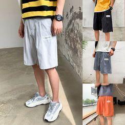 Cowpow - Wide-Leg Beach Shorts